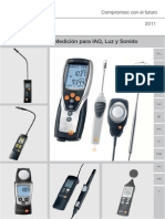 Manual Testo 435 Instrumento de Medicion Multifuncion
