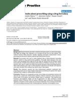 Family Physician Attitudes About Prescribing Using a Drug Formulary
