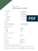 Guia Potencias, Raices y Logaritmos FMMP101