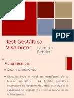 Test de Bender con evaluación de Santucci.