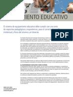 Equipamiento Educativo