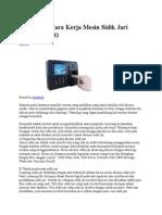 Bahan Presentasi Finger Print