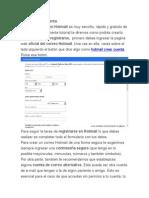 Hotmail Crear Cuenta