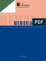 Revista Memoria Nº 6 Final