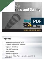 Saftey of Ammonia Handling PDF-libre
