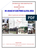Multi Hazard Resistant New Construction or Reconstruction of Bpl Houses in Flood Prone Alluvial Areas