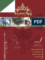 Catalog Mobilier Urban Kronemag-2014-2015