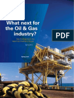 What Next Oil Gas Industry