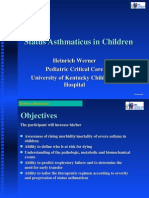 status asthmaticus in children