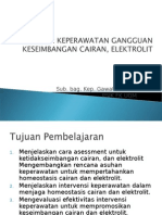 askep cairan  dan elektrolit 2012.ppt