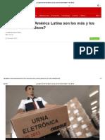 ¿Qué Países de América Latina Son Los Más y Los Menos Democráticos_ - BBC Mundo