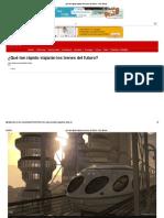 ¿Qué Tan Rápido Viajarán Los Trenes Del Futuro_ - BBC Mundo