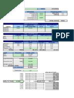 Voyage Estimation Sheet