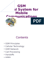 Gsm Mobile Communications