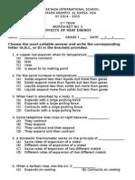 Worksheet Effects in Heat Energy