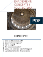 1.- Renaixement Concepte i Arquitectura