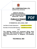 Indian OIL Tender
