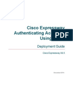 Cisco Expressway Authenticating Accounts Using LDAP Deployment Guide X8 5