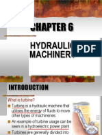 Chapter 6 - Hydraulic Machinery