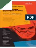 Giancarlo Pinchera, il pioniere dell'efficienza