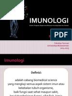 Kuliah 1 Imunologi Pendahuluan