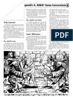 Dungeons & Dragons Conversion Manual OD&D to AD&D