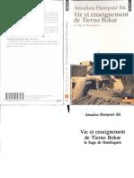 Hampaté Bâ Amadou - Vie et enseignement de Tierno Bokar.pdf