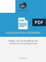 Job Description Compendium