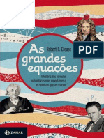 As Grandes Equações - Robert P. Crease