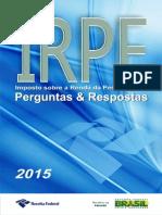 Perguntas E respostas  IRPF 2015