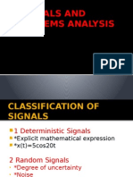 Signals and Systems Analysis