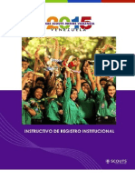 INSTRUCTIVO DE REGISTRO