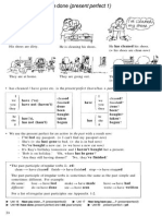 Present Perfect Eexamples
