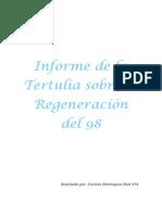 Informe Tertulia