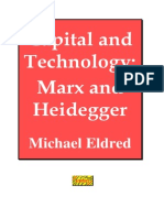 Capital and Technology Marx and Heidegger