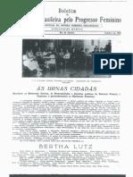 Boletim da Federação Brasileira pelo Progresso Feminino