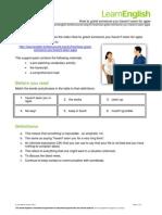 How to greet someone.pdf