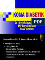 KOMA DIABETIKUM
