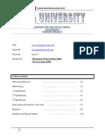 Report for the Social Media Website Project Dec 16th 2012