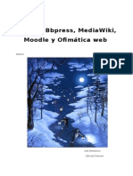 Blogger Bbpress MediaWiki Moodle Ofiweb SebasTIAN V1