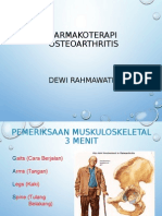 Farnakoterapi Osteoarthritis