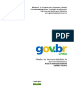 Guia de Interoperabilidade Cartilha Técnica 2015
