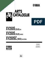 Parts Book - Virago XV250S - 2UJG_2004