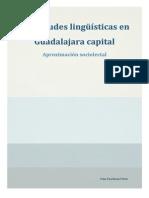Actitudes Lingüísticas en Guadalajara Capital