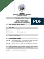 Agenda 04-07-15