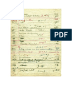 John Lennon 1955 Detention Sheet