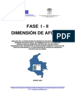 Dimension Aforos 1