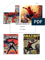 Spiderman as Transmedia Narrative