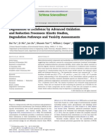Degradation of Diclofenac by ARPs- Kinetics%2c Degradation Pathways and Toxicity Assessments- 2013