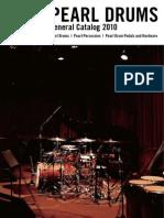 Pearl General Catalog 2010 Screen